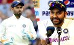 Ind vs SA: Rishabh Pant dropped from 2nd Test | Rohit Sharma Reveals reason