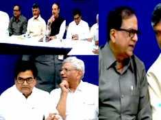 lok sabha elections 2019 : ஒன்றுகூடிய 21 எதிர்கட்சி தலைவர்கள்!  கனிமொழியும் பங்கேற்பு-வீடியோ