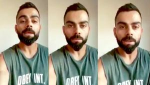 Virat Kohli urges citizens to strictly follow lockdown