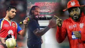 Yuvraj Singh posted a funny video of Gayle speaking Hindi