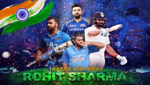 Rohit Sharma Birthday special | Story of Rohit Sharma in Tamil