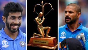 BCCI likely to nominate  Bumrah,  Dhawan for Arjuna award