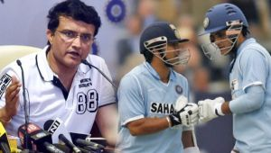 ICC tweets on Ganguly Sachin partnership