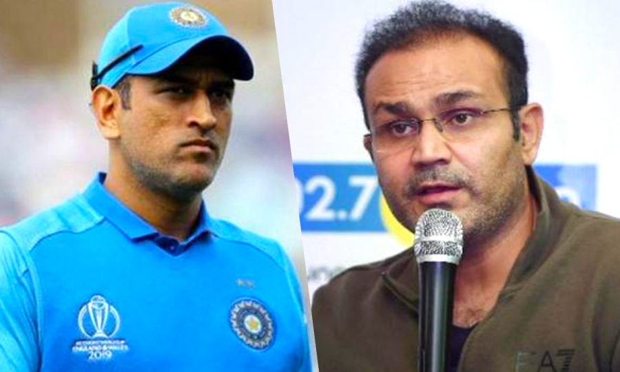 Sehwag says Dhoni's return to Indian team looks difficult