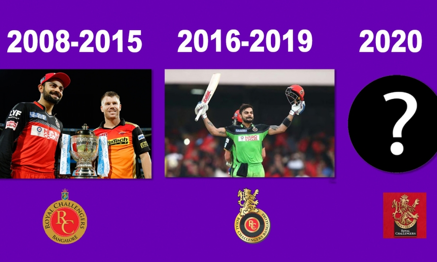 IPL 2020 | Interesting things when RCB changed their logo in 2016