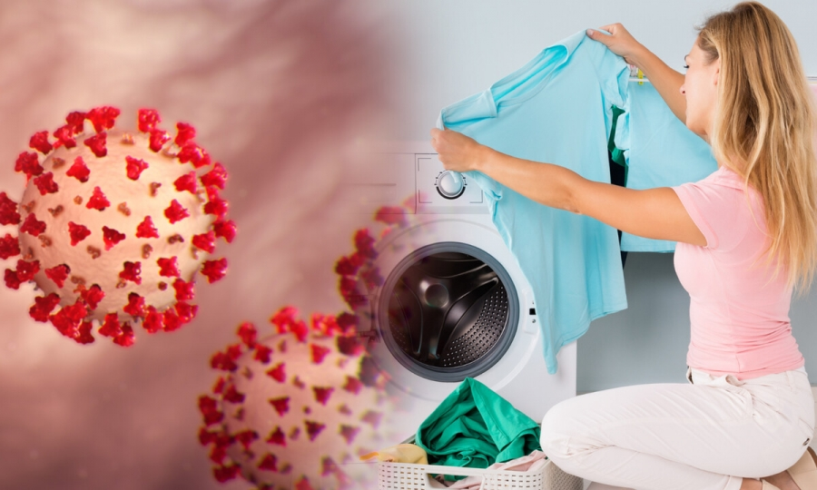 Virus can survive on clothes?