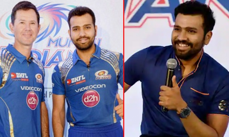 Rohit Sharma picks Ricky Ponting as best coach