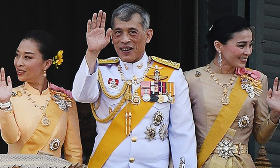 Thailand King Maha Vajiralongkorn self isolates  in Germany