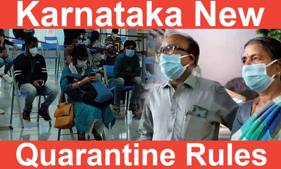 Carrying Lab Report ? Karnataka Exempts You From Institutional Quarantine