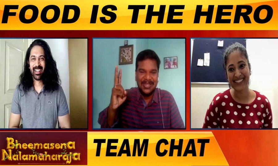 BHEEMASENA NALAMAHARAJA MOVIE TEAM CHAT |ACTOR ARAVIND & AAROHI | ONEINDIA TAMIL