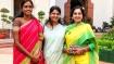 ஆஹா... முதல் நாளிலேயே போட்டோ செஷனில் கலக்கிய தமிழ்நாட்டு பெண் எம்பிக்கள்!