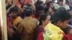 காஞ்சி அத்திவரதரை தரிசிக்க வந்த சென்னை பெண் கூட்ட நெரிசலில் சிக்கி பலி