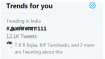 இந்தி திணிப்பு சூழலில் ட்விட்டர் டிரெண்டிங்கில் முதலிடம் பிடித்த #அண்ணா111