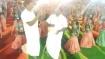 திருப்பூர் அருகே கோவில் திருவிழாவில் வள்ளி கும்மி நடனம் ஆடிய பல்லடம் எம்எல்ஏ