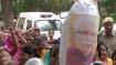 சோனியா குறித்து சர்ச்சை விமர்சனம்- ஹரியானா முதல்வருக்கு எதிராக காங்கிரஸ் போராட்டம்