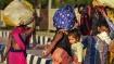 கொரோனா லாக்டவுன்: 8 மாத கர்ப்பிணி- பட்டினியுடன் 100 கி.மீ. நடைபயணம்-மீட்ட பொதுமக்கள்- டெல்லி துயரம்