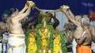 திருமலையில் பக்தர்கள் இல்லாமல் நடந்த வசந்த உற்சவம் - தங்க தேரோட்டம் ரத்து