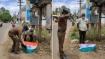 டிரான்ஸ்பார்மர் மின்சாரம் தாக்கி உயிரிழந்த மயில் - தேசியக்கொடி போர்த்தி மரியாதை