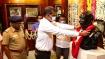 காமராஜர் 118வது பிறந்தநாள் - அமைச்சர்கள் மலர்தூவி மரியாதை - விருதுநகரில் எளிமையாக கொண்டாட்டம்