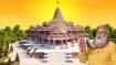 அயோத்தி ராமர் கோவில் பூமி பூஜைக்கு முன் அனுமரையும் குழந்தை ராமரையும் வழிபடும் பிரதமர் மோடி