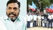 சென்னையில் மனுதர்ம நூலை எரித்த திருமாவளவன் உட்பட 250 பேர் மீது போலீசார் வழக்கு