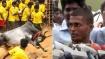 பாலமேடு ஜல்லிக்கட்டில் 18 காளைகளை அடக்கி முதல் பரிசு வென்ற கார்த்திக் - அரசு வேலை தர  கோரிக்கை