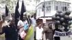 புதுச்சேரியில் பிரதமர் மோடிக்கு கறுப்பு கொடி- கறுப்பு பலூன்களை பறக்கவிட்டதால் பரபரப்பு- 30 பேர் கைது