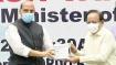 2டிஜி கொரோனா மருந்து பவுடர் தண்ணீரில் கலக்கி குடிக்கலாம் - ராஜ்நாத்சிங், ஹர்சவர்த்தன் அறிமுகம்