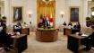 குவாட்.. அமெரிக்கா, ஆஸ்திரேலியா, ஜப்பான் தலைவர்களுடன் பிரதமர் மோடி சந்திப்பு: கொரோனா குறித்து ஆலோசனை