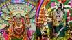 குலசை தசரா : முத்தாரம்மன் கோவிலில் மாலை அணிய குவியும் பக்தர்கள் - கொடியேற்றம், சூரசம்ஹாரம் காணத் தடை