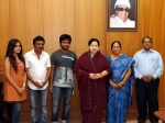 GV Prakash and saindhavi Invites Jayalalitha
