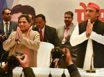உத்தரப்பிரதேசத்தில் 'ஒர்க் அவுட்' ஆகவில்லையா மாயாவதி- அகிலேஷ் கூட்டணி?