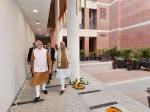 டெல்லி பாஜக அலுவலகத்தில் இன்று மாலை தொண்டர்களை சந்திக்கிறார் பிரதமர் மோடி!