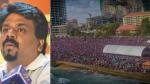 கொழும்பை அதிர வைத்த ஜே.வி.பி. பேரணி- அதிபர் வேட்பாளராக அனுரகுமார திசநாயக்க  போட்டி!