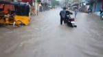 நீச்சல் குளமாக மாறிய சென்னை சாலைகள்.. பெரும் டிராபிக் ஜாமுக்கு ரெடியா போங்க மக்களே.. #chennairains