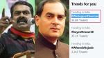 ராஜீவ் காந்தி கொலை விவகாரம்... #WeSupportSeeman ட்விட்டரில் டிரெண்டிங்கான சீமான்