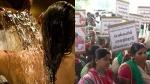 பாத்ரூமில் குளிப்பதை டிரோன் மூலம் வீடியோ எடுப்பதா.. தனியார் சர்வே நிறுவனம் மீது பெண்கள் பாய்ச்சல்!