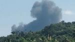 கோவாவில் நொறுங்கி விழுந்த மிக்-21 கப்பல்படை போர் விமானம்.. தப்பிய விமானிகள்