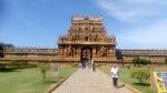 தஞ்சை பிரகதீஷ்வரர் கோவில் கும்பாபிஷேகம் : 40 அடி உயர பர்மா தேக்கில் புதிய கொடி மரம்