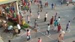 கொரோனா எதிரொலி.. காய்கறி அங்காடியாக மாறிய புதுச்சேரி பஸ் நிலையம்!