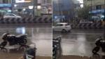 ஒரே நேரத்தில் என்ட்ரி.. சென்னையின் பல பகுதிகளிலும் மிதமான மழை.. பெங்களூரில் கனமழை