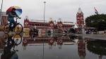 சென்னையில் மழைக்காலம் - மாலையில் கனமழை காலையில் சாரலோடு விடிந்தது