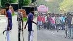 எதை பத்தியும் கவலை இல்லை.. மாஸ்க் போடல.. புதுச்சேரி ரவுடியின் இறுதி ஊர்வலத்தில் 500 பேர் பங்கேற்பு