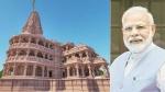ராமர் கோவில் பூமி பூஜை:  உச்சக்கட்ட பாதுகாப்பில் அயோத்தி - வெள்ளி செங்கலை எடுத்து கொடுக்கும் மோடி