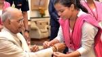 பெண்களின் மரியாதைக்கும், கண்ணியத்துக்கும் ஆதரவாய் நிற்க வேண்டும் - ஜனாதிபதி ரக்ஷாபந்தன் வாழ்த்து