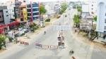 திருச்சி காந்தி மார்க்கெட் தொழிலாளர்கள் 8 பேருக்கு கொரோனா உறுதி - 10 வீதிகளில் நடமாட தடை