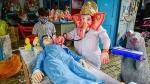 விநாயகர் சதுர்த்தி ஸ்பெஷல் 2020: கொரோனாவை வதம் செய்யும் விநாயகர்... டாக்டர் விநாயகர்