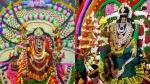 விஜயதசமி : குலசை முத்தாரம்மன் கோவிலில் சூரசம்ஹாரம் - குமரி பகவதி அம்மன் கோவில் பரிவேட்டை