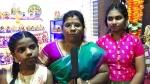 ஆன்லைன் வகுப்பு, விநாயகருக்கு மாஸ்க் , கூடவே வெங்காயம்.... களைகட்டிய கடைசி நாள் நவராத்திரி..!