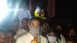 திண்டுக்கல் அருகே ரெட்டியார்சத்திரத்தில் பெரியார் சிலைக்கு காவி சாயம் பூசி அவமதிப்பு